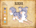 Reference. Riana by Nighttame