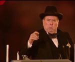 Timothy Spall as Churchill Sour Face by TrevLafoe