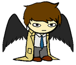 Supernatural sprite by HollyTheEpicKitten