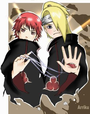 Sasori Cartoon Family