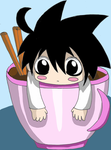 L in a teacup by llppss