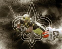 Marques Colston by Indarkness