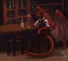 Plenty o' time, plenty o' wine by Blekarotva