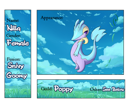 Nilla the Goovy Ref Sheet by Clyde-the-Snivy