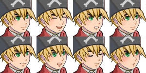 Hetalia ~ Pirate!England Faceset by angel-of-britannia