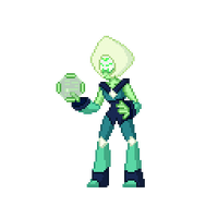 Peridot - Warp Tour by cloudcoole