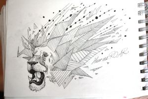 Lion Tattoo Design 2 by PanthersHonor