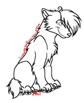 Canine Lineart -pay to use- by flannelRaptors