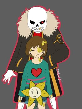 Flowerfell - Undertale by CaptaineJu