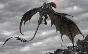 Mother Malkin Dragon ( Seventh Son Concept Art ) by Ubermonster
