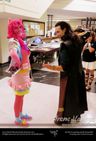 Pinkie Pie - MLP:FiM - Pinkie and Loki by IreneUbik