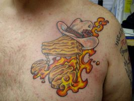 country music tattoo by HowComeHesDead