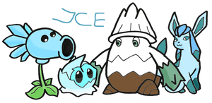 Plants are just like Pokemon! Ice by kovuification