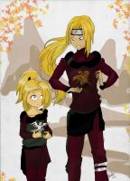 Deidara and Hikaru: Hidden Stone Brothers~ by AfterForev3R