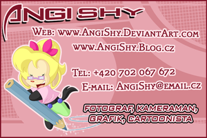 New business card by Angi-Shy
