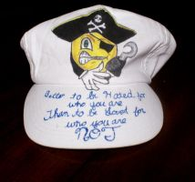 For Sale: Smilin' Pirate Hat by SmilinPirateTattoo