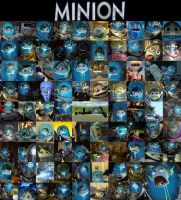 Minion Tribute by kaiquenator