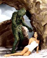 Colorized Creature From The Black Lagoon By Dr-rea by dr-realart-md