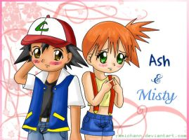 ::ash X misty:: by yamichann
