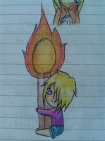 Cain loves fire~ by demonlucy