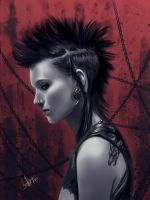The Girl with the Dragon Tattoo by Tielss