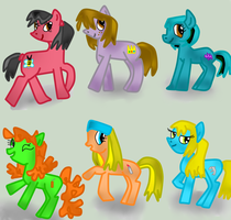 TDI PONIES by TheStalkerific