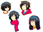 Hairstyles by Kalu-Chan11