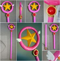 Cardcaptor Sakura - Star Wand by RainOwls