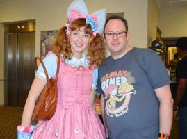Me and Scarlett Young at AniMangaPop by memersonphotographic