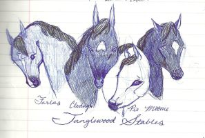 Tanglewood Horses by tangledwoods