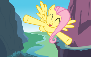 Flight of the Fluttershy by LazyPixel