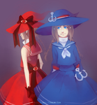 WADANOHARA Day 10 - Which Witch is Which by QuietElegy