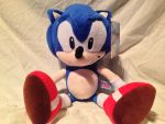 PMS Classic Sonic Plush Review by DarkGamer2011
