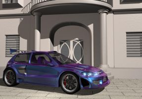 Widebody EG6 Scene WIP 1 by ragingpixels