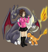 Pokemon Trainer-Breeder by Sciggles