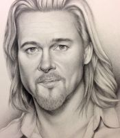 Brad Pitt-Work in progress by southampton11968