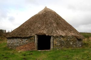 Stock - Iron Age Roundhouse by OghamMoon