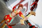 Dynasty Warriors 7 - Sun Shangxiang by Xeno-Photography