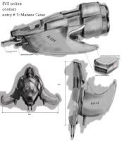 EVE online cont: Meteor Cutter by 1SwanWing