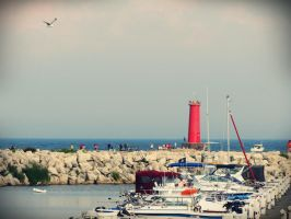 The Harbor by evelynrosalia