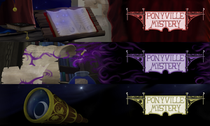 Ponyville Mystery Header Collection Goodness 2! by Konsumo