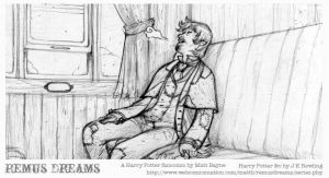 Remus Dreams, panel 3 by heymatt