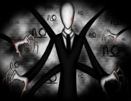 Slender Man by GoldKristall