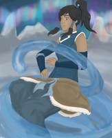 Avatar Korra by Cacah05