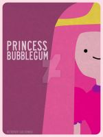 Princess Bubblegum by retro-vertigo