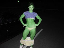 she hulk legs by wachiturro