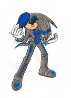AT: Alpha Centauri the Echidna by IkaritheHedgehog