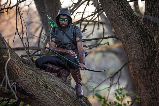 Green arrow cosplay by Foques