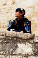 Fire Emblem - Marth on the stairs by Kura-Kitsune