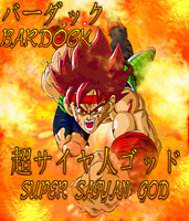 Super Saiyan God Bardock by EliteSaiyanWarrior